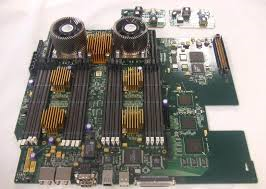 A5990-66510 HP System Board for J6000 Workstation with two 552Mhz CPU Processors & Heatsinks.